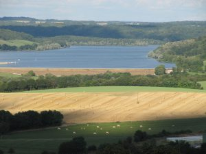 Landschaft in Burgund