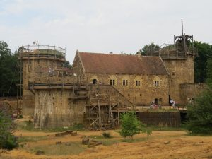 "Medieval construction project ""Guédelon"""