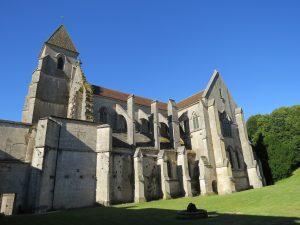 Abdij kerk Saint-Seine
