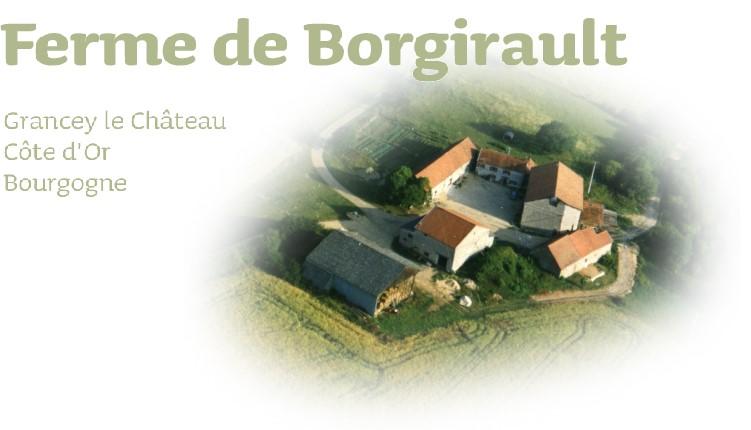 La Ferme de Borgirault, Grancey le Château, Côte d'Or, Bourgogne