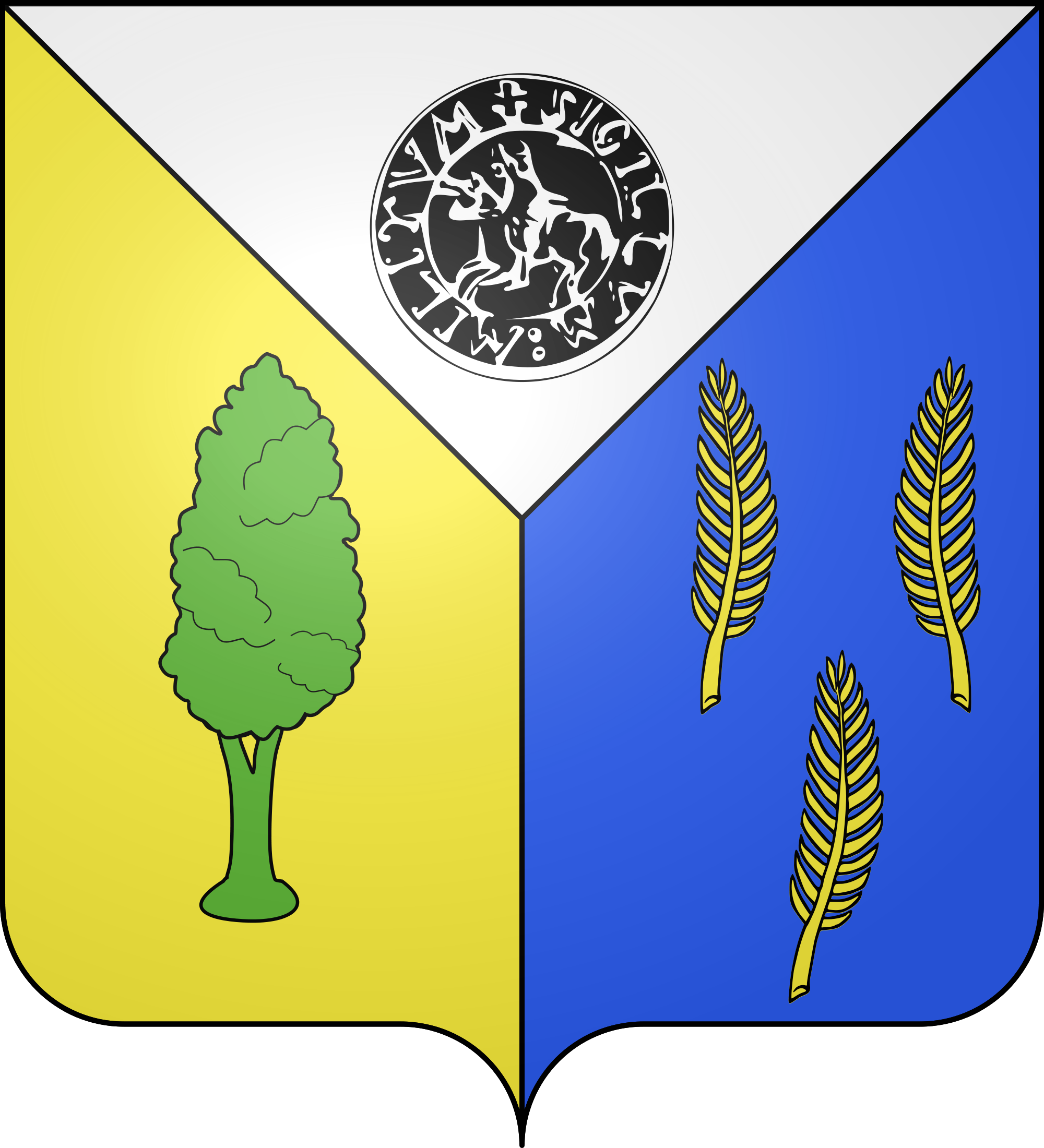Coat of Bure-les-Templiers