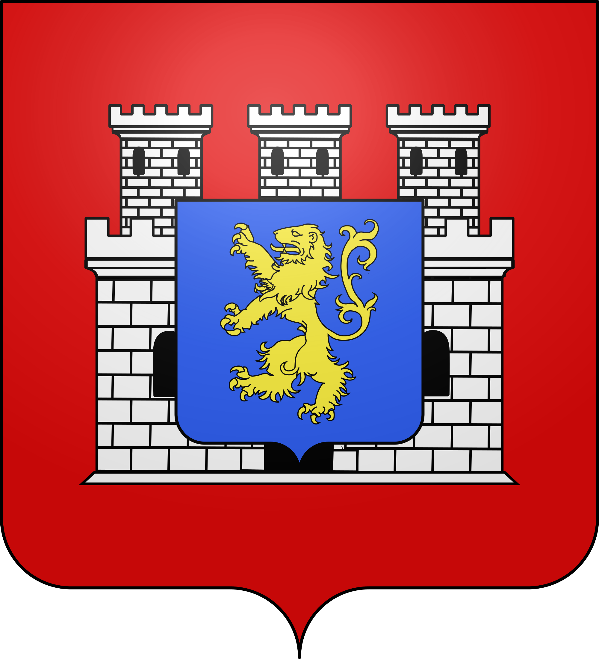 Wappen von Grancey-le-Château